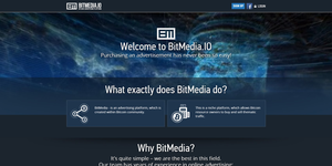 Bitcoin Advertising Platform BitMedia.IO Receives $100 000 Investment Offering Professional Bitcoin And Cryptocurrency Ad Options