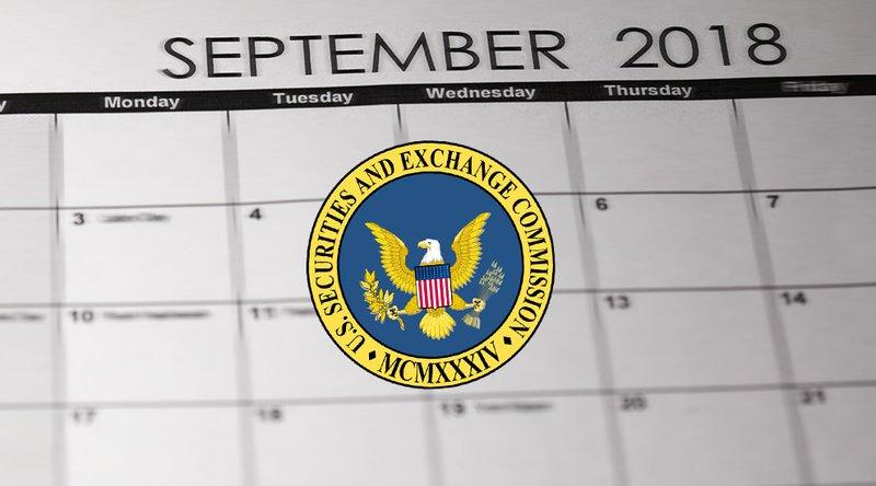 SEC on 5 ETFs September