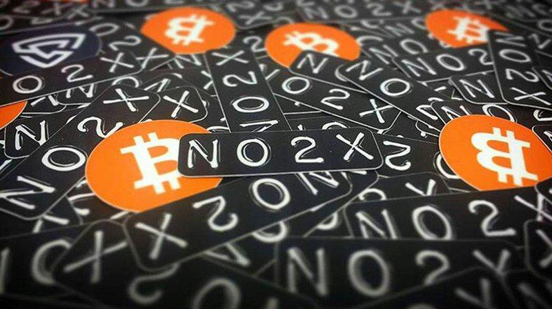 no 2x breaking bitcoin
