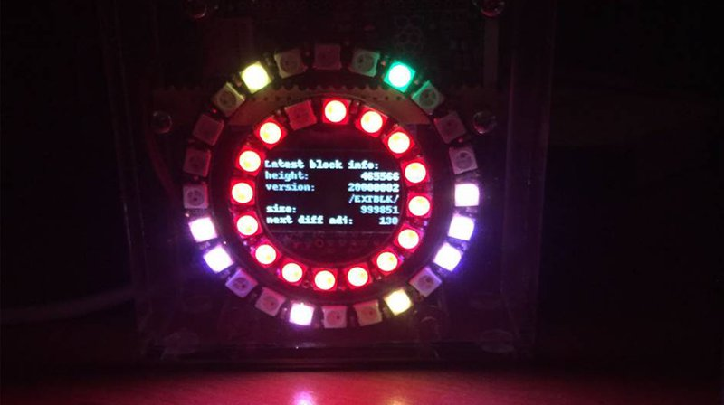 The Bitcoin Block Clock Jr. Is Half Full Node and Half Work of Art