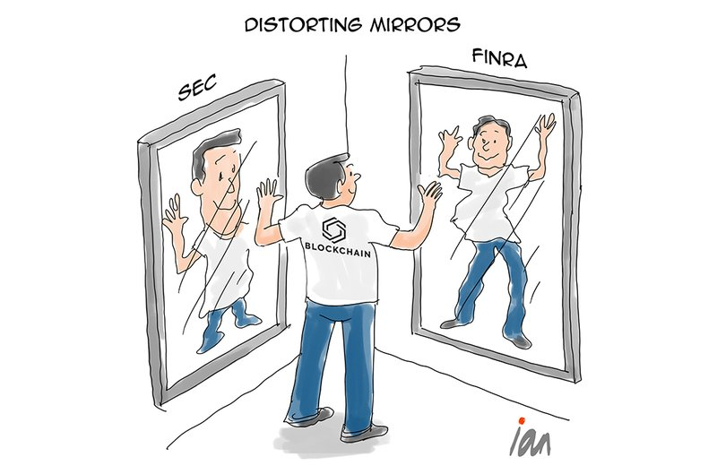Cartoon: Distorting Mirrors. Good