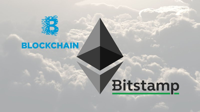 Bitstamp and Blockchain add ether