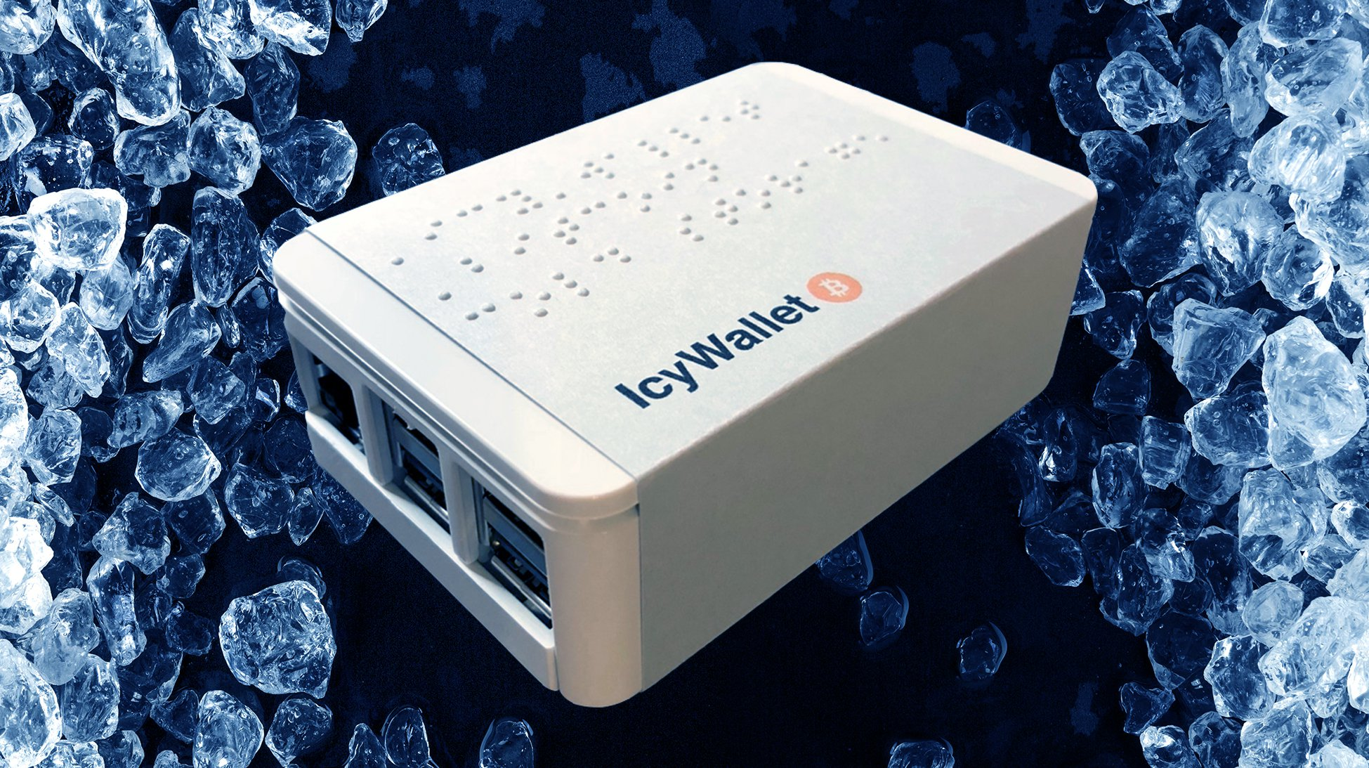 IcyWallet Offers a Cold Storage Bitcoin Wallet for the Visually Impaired