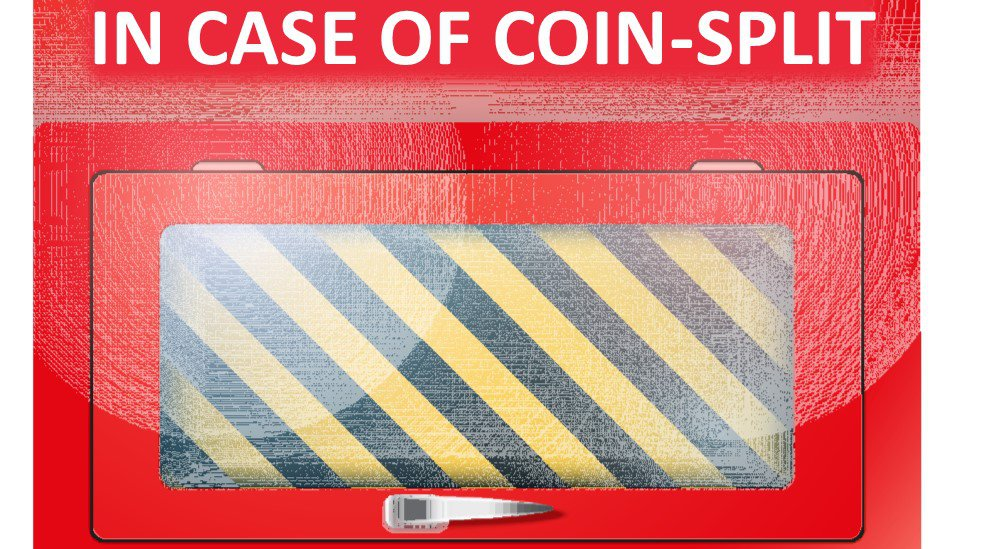 A Bitcoin Beginner's Guide to Surviving a Coin-Split