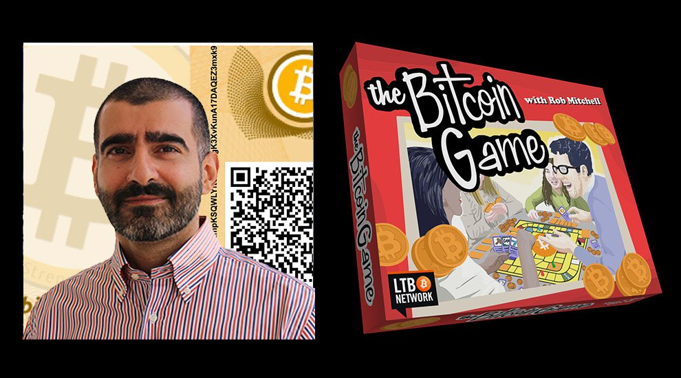 Peter Kroll is Rob Mitchell's guest on The Bitcoin Game.