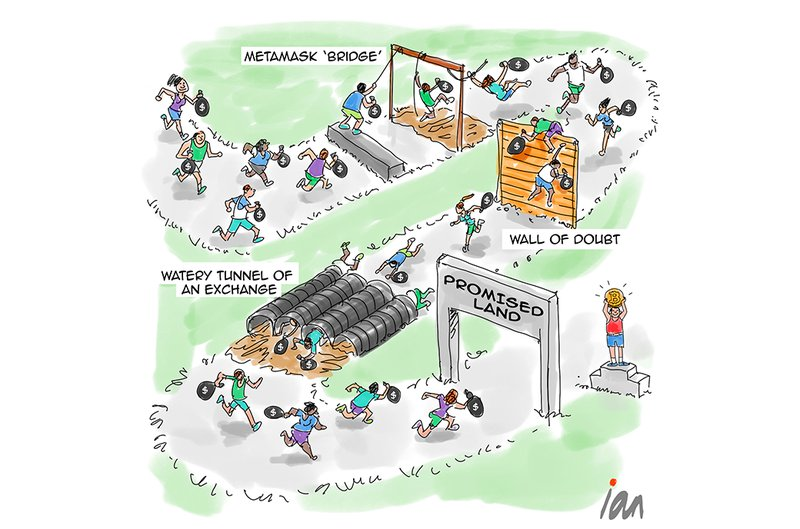 Cartoon: Obstacle Course