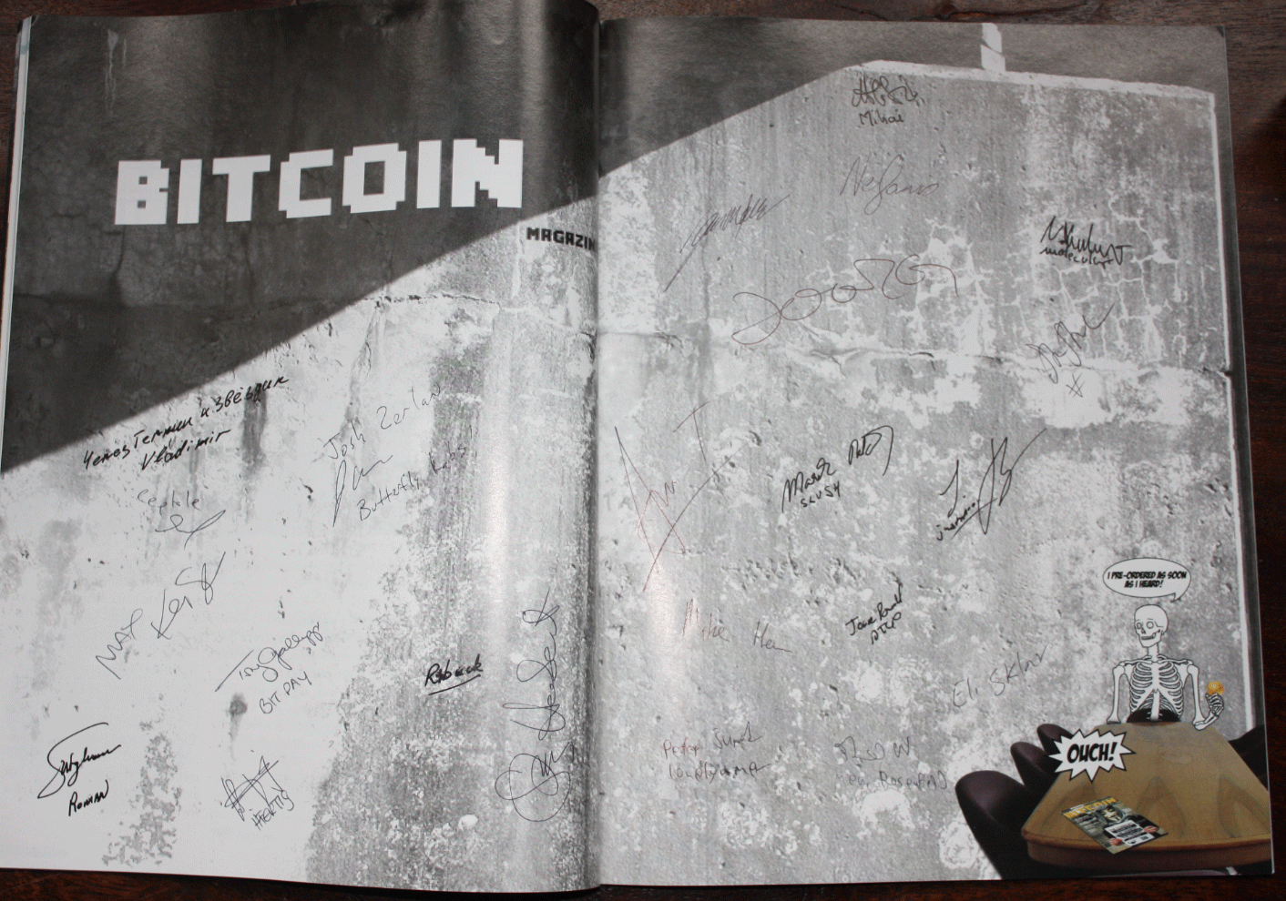 Bitcoin Magazine #1 ubercollectable edition is looking for its owner