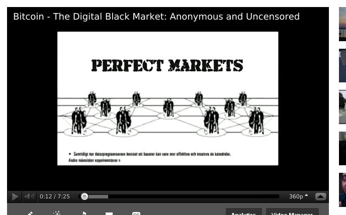 Bitcoin – The Digital Black Market: Anonymous and Uncensored [VIDEO]