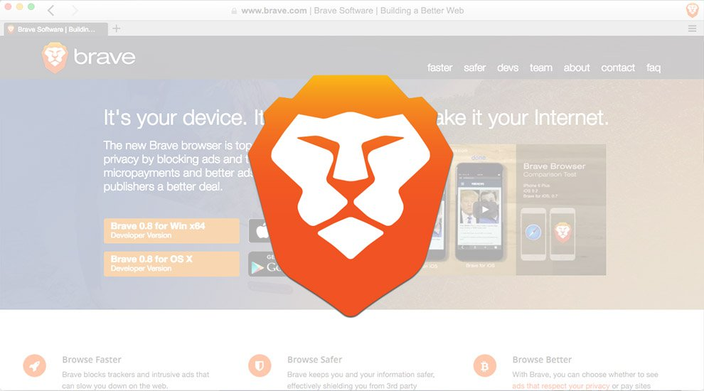 Brave Browser to Launch Clean Ads for a Faster Web, Powered by Bitcoin Micropayments