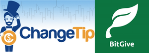 ChangeTip Teams Up with First 501(c)(3) Bitcoin Charity BitGive