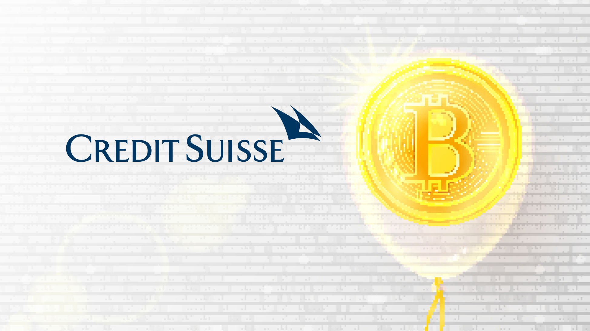 Credit Suisse Argues Irrational Exuberance Around ICOs Indicates Bitcoin Bubble
