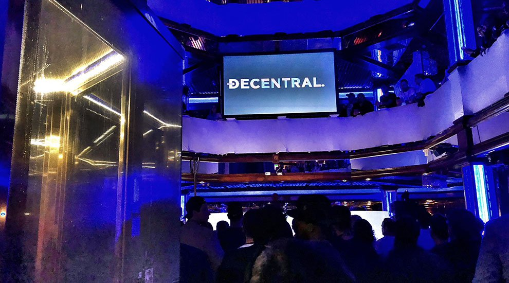 Aboard the Cornucopia Majesty for the Decentral Project launch