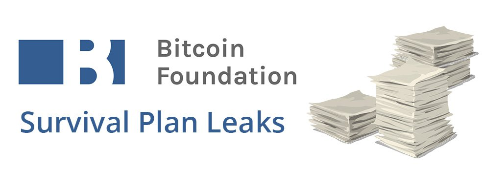Developing: Bitcoin Foundation Survival Proposal and Financials Leak