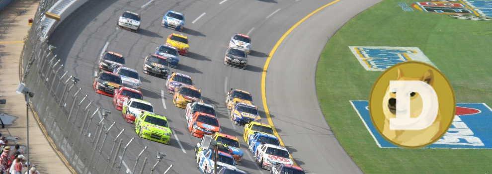 So Very Wow! Dogecoin Sponsors a NASCAR Racer