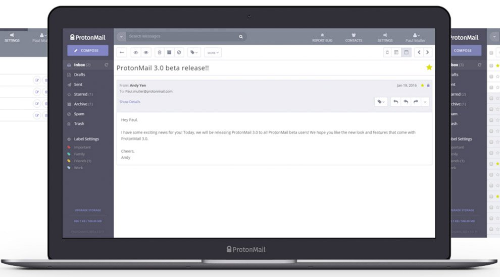 Encrypted Email Provider ProtonMail Opens to the Public, Accepts Bitcoin Payments