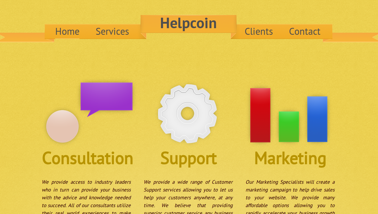 Helpcoin: Bitcoin's Newest Consulting Company