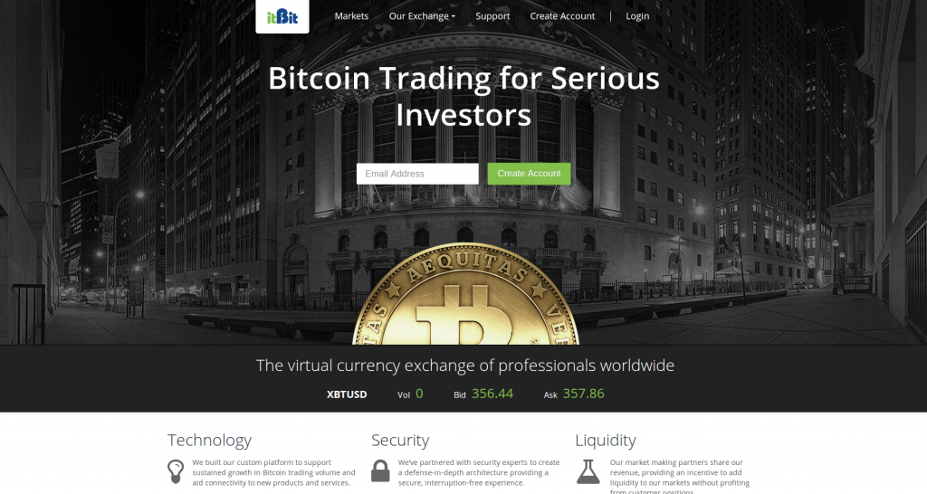 itBit to Launch as a Global Bitcoin Currency Exchange
