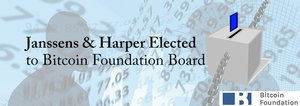 Janssens and Harper Elected to Bitcoin Foundation Board after Lengthy, Chaotic Election Process