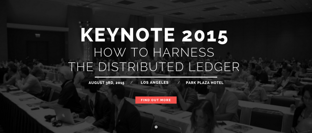 KEYNOTE 2015: Rebooting Finance with a New Kind of Ledger