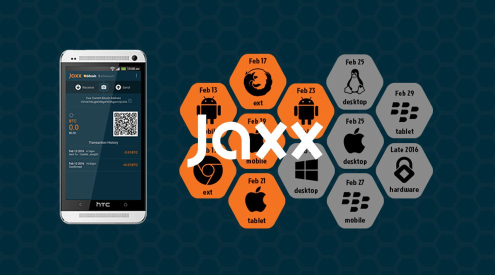 Kryptokit Launches Jaxx Ethereum & Bitcoin Wallet for Android Tablets