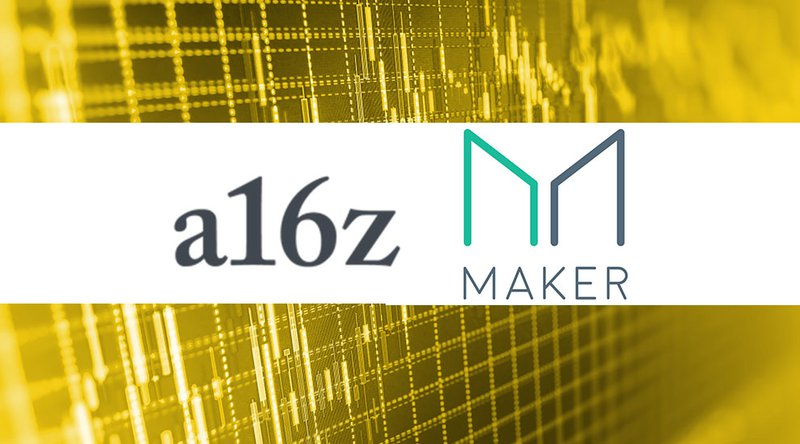 a16z Puts $16 Million Behind Stablecoin Platform MakerDao