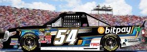 NASCAR Racer Justin Boston Heads to Daytona for BitPay