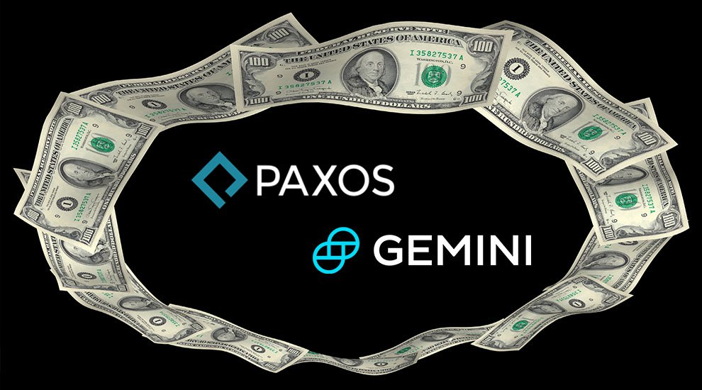 Image result for Gemini Dollar Paxos Standard