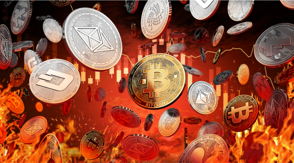 Cryptocurrency's Red Tuesday Firesale Leaves Everyone Speculating