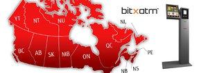 Quadriga Fintech Solutions to Launch Fleet of New BitXATMs across Canada
