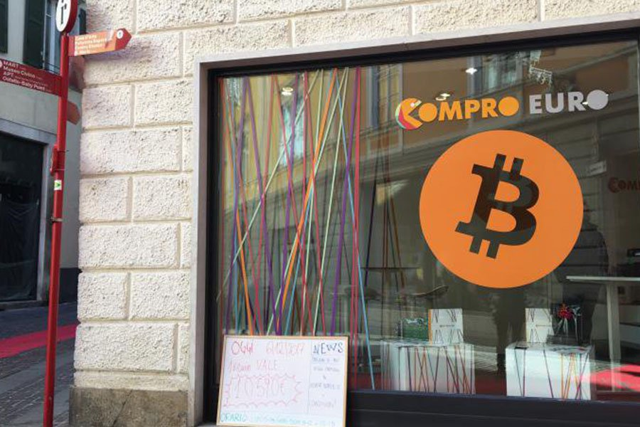 compro euro  - riv comproeuro - In This Italian Mountain Town, Everyone Knows About Bitcoin