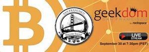 [Live Video Stream] SF Bitcoin Meetup @ Geekdom