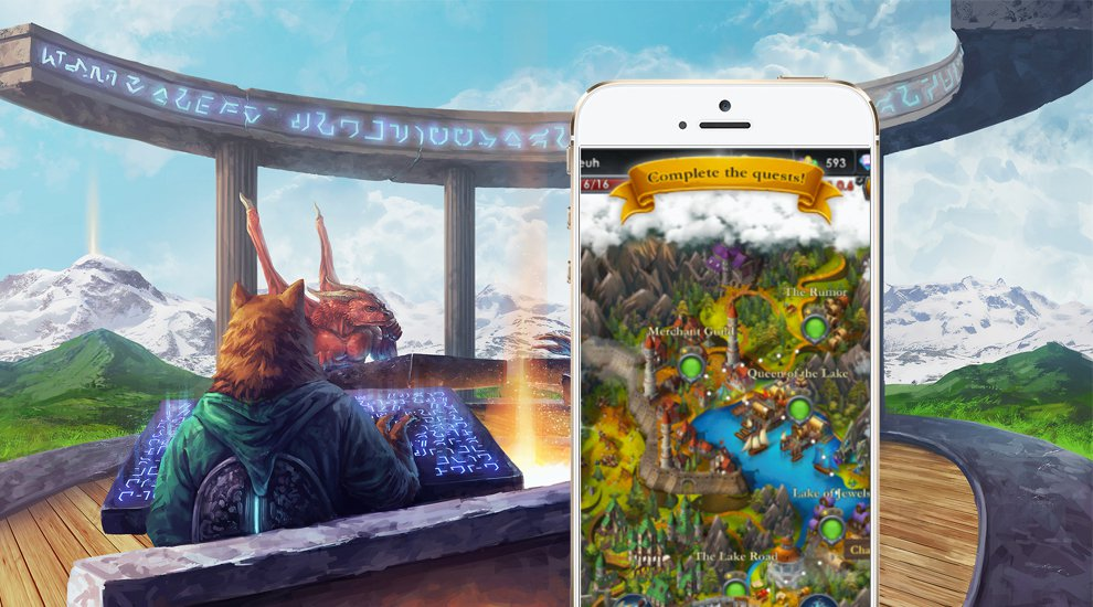 Blockchain-Based Spells of Genesis Game Launches in App Stores