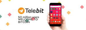 Telebit Introduces 50 Million Telegram Users to Bitcoin