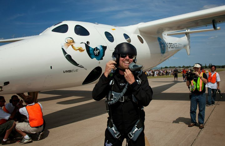 Travel to space with Bitcoin and Virgin Galactic