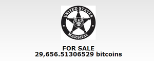 "US Marshal Office Offers 100% ""Washed"" Bitcoins"