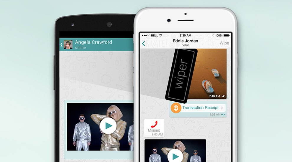 Wiper Messaging App Adds Bitcoin Micropayments for Independent Filmmakers