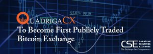 Breaking: Canadian Exchange QuadrigaCX to Become World's First Publicly Traded Bitcoin Exchange