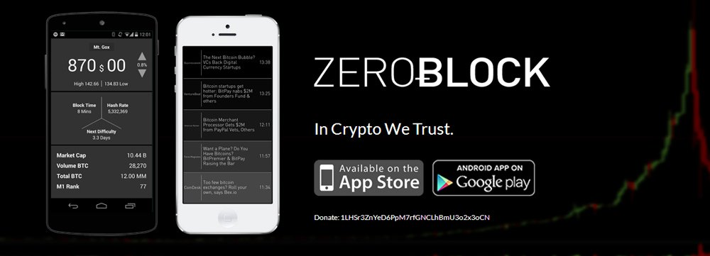 ZeroBlock Bitcoin App Now Available on Android Devices