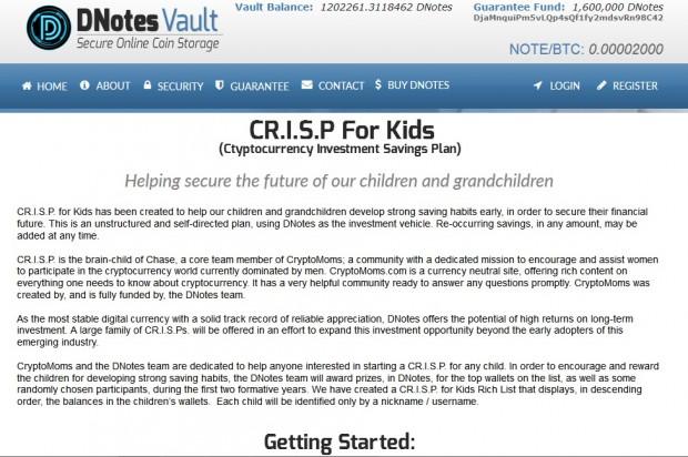 CRISP-Screenshot